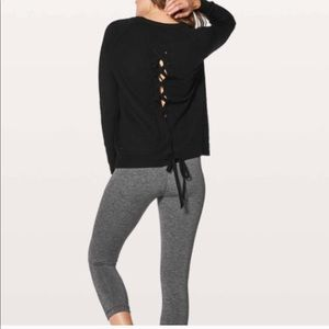 Lululemon tied to you sweater size 8 new with tags
